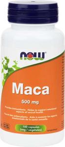 Now Foods Maca 500mg 100 Veg Caps | 733739847218