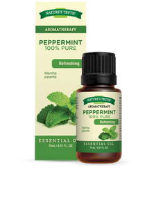 Nature's Truth 100% Peppermint Essential Oil | 0840093102553