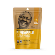Level Ground Trading Dried Organic Pineapple | 661594904012