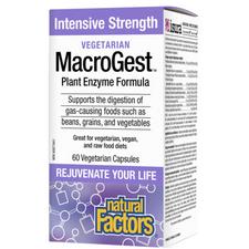 Natural Factors Vegetarian MacroGest Intensive Strength | 068958017624