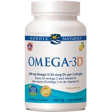 Nordic Naturals Omega-3D 60 soft gels | 768990717611