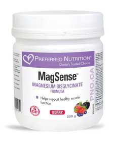 Preferred Nutrition MagSense Powder 200 grams | UPC: 628826001935