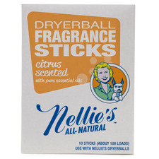 Nellie's All Natural Dryerball Fragrance Sticks Citrus Scented   810648007008