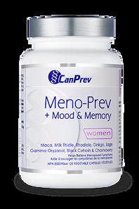 CanPrev Meno-Prev + Mood & Memory for Women 120VCaps | 854378001165