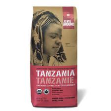 Level Ground Trading Tanzania Dark Roast Whole Bean Coffee   661594002872