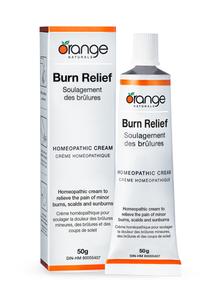 Orange Naturals Burn Relief Homeopathic Cream   886646050551