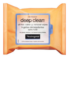 Neutrogena Deep Clean Oil Free Makeup Remover Wipes | 0062600945136