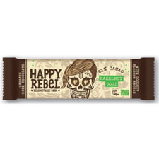 Lovechock Happy Rebel Delightfully Dark 81% Cacao Hazelnut/Goji Chocolate | 8718421157358,  8718421157396