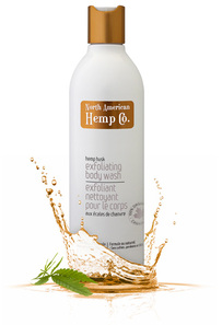 North American Hemp Co. Hemp Husk Exfoliating Body Wash | 628143060332