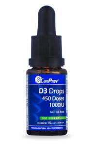 CanPrev Vitamin D3 Drops   854378001561