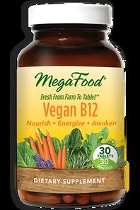 MegaFood Vegan B12 30 Tablets | 051494901380