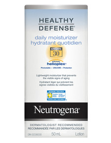 Neutrogena Healthy Defense Daily Moisturizer SPF 30 | 0062600200136