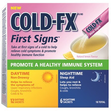 COLD-FX First Signs Sachets Combo (DISCONTINUED)