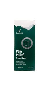 SierraSil Pain Relief Topical Spray 30mL | 897871000402