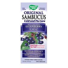 Nature's Way Sambucus Original Cold and Flu Care   033674309230