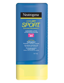 Neutrogena CoolDry Sport Sunscreen Lotion SPF 30 | 0062600962935
