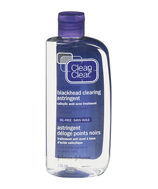 Clean & Clear Blackhead Clearing Astringent   0062600078377