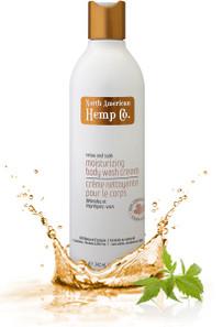 North American Hemp Co. Relax and Soak Moisturizing Body Wash Cream | 628143060325
