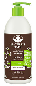 Nature's Gate Coconut Lotion