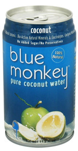Blue Monkey 100% Natural Pure Coconut Water Pulp Free | 059654170034