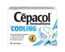 Cepacol Sensations Cooling Lozenges (DISCONTINUED)