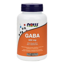Now Foods GABA With Vitamin B-6 | 733739800879
