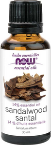 Now Essential Oils 14% Essential Oil Sandalwood Oil 30 ml   733739876683