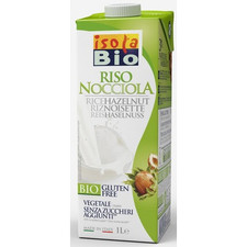 Isola Bio Hazelnut Rice Beverage | 8023678162315