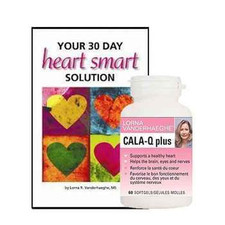 Lorna Vanderhaeghe Cala Q Plus and Your 30 Day Heart Smart Solution Book | 871776001689