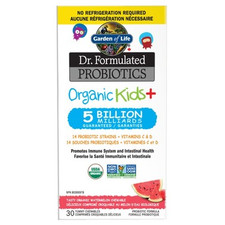 Garden of Life Dr. Formulated Probiotics Organic Kids Shelf Stable Watermelon | 628055928591