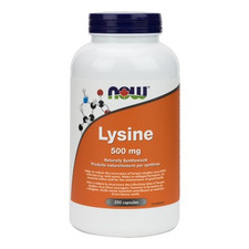 Now Foods L-Lysine 500mg | 733739801128