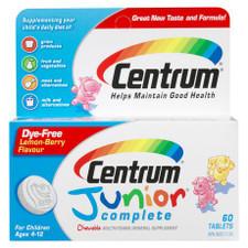 Centrum Junior Complete Multivitamin Tablets   0062107040518