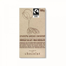 Galerie au Chocolat Crunchy Pecan Caramel Milk Chocolate Bar