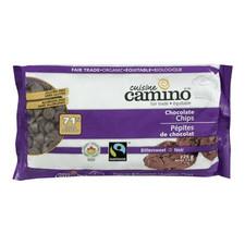 Camino Organic 71% CACAO Bittersweet Chocolate Chips | 752612240021