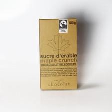 Galerie au Chocolat Maple Crunch Milk Chocolate Bar