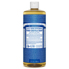 Dr. Bronner's Pure-Castile Liquid Soap Peppermint 946ml | 018787775325