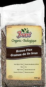 INARI Organic Whole Brown Flax Seeds | 667390507771