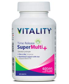 Vitality Time Release Super Multi+ Tablets - 60 tablets | 062044230560