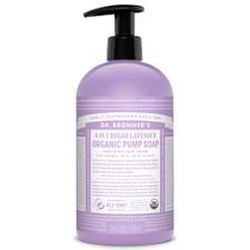 Dr. Bronner's 4-in-1 Sugar Lavender Organic Pump Soap 710ml | 018787960011