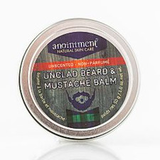 Anointment Natural Skin Care Unclad Beard and Mustache Balm | 832168000475