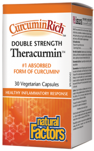 Natural Factors CurcuminRich Theracurmin Double Strength | 068958045436