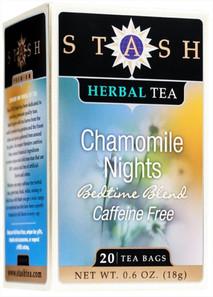 Stash Tea Caffeine-Free Chamomile Nights Herbal Tea 20 Tea Bags | 077652082418