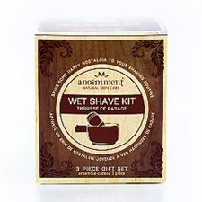 Anointment Natural Skin Care Wet Shave Kit | 832168000192