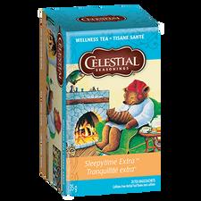 Celestial Seasonings Wellness Tea Sleepytime Extra   070734053955