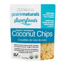 Prairie Naturals Organic Coconut Chips 75g | 067953006015