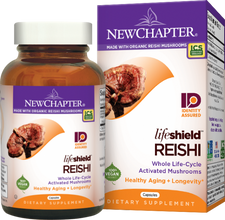 New Chapter LifeShield Reishi  Capsules | 727783100559