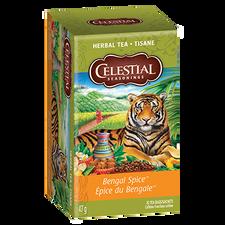 Celestial Seasonings Herbal Tea Bengal Spice   070734053283