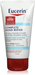 Eucerin Complete Hand Repair Creme - Fragrance Free 75mL | 056594633827