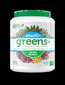 Genuine Health Greens+ Multi+ Natural 534g   624777002144