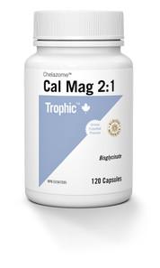 Trophic Chelazome Calcium Magnesium 2:1 120 capsules | 069967122217